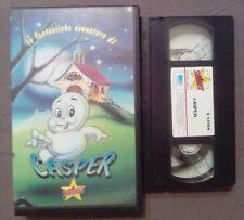 VHS FILM Ita Animazione E FANTASTICHE AVVENTURE DI CASPER stardust no dvd(VH61)