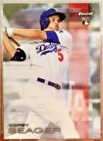 2016 Topps Finest COREY SEAGER Rookie #58 Los Angeles Dodgers RC
