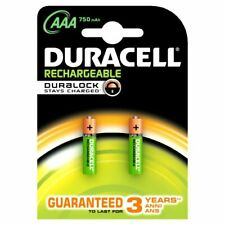 Duracell Stays Charged AAA Rechargeable Battery Nichel-metallo idruro NiMH 813