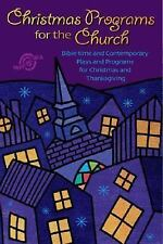 NEW - Christmas Programs for the Church