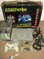 Sony Playstation One PS1 Console Bundle VR Game Wear Interactor