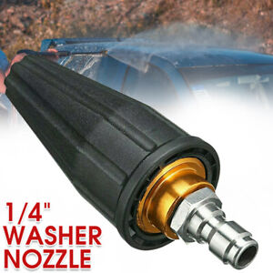 3600PSI* High Pressure Washer Release Jet Wash Quick Rotating Turbo Nozzle Tip