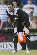 Cardiff City Joe Lewis 6X4 foto firmada a mano.