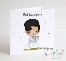 ELVIS PRESLEY Thank You Card - THE KING