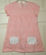 New Baby Girl size 18 Months Kitty Cat Face Dress & Diaper Cover Child of Mine