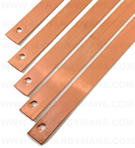 Copper Slate Roofing Straps 150mm, Slate Roof Strip, Repair, Moss Algae Free,