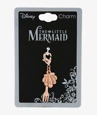 Disney The Little Mermaid ARIEL SHELL & DINGLEHOPPER DETACHABLE CHARM
