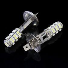 2X H1 26 LED 4500-6500K 3528 SMD Blanco Luz Faro Lámpara para Coche Headlight