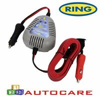 AGM 12v Vehicles up to 3.5L Gel Calcium Ring RSC704 4A Smart Battery Charger EFB Batteries For Lead Acid Fast Charge Mode//Maintenance Charge Mode