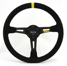 Momo Wildleder Sportlenkrad Modell MOD. 08 350mm schwarz black steering wheel vo