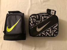 New listing Nike Contrast Insulated Tote Lunch Bag Thermal Box Dk Magnet Gray New Lot Of 2