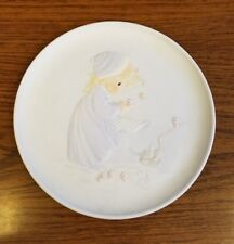 "Precious Moments Collectors Plate ~Winter's Song~ 8.5"" 1984 Sam Butcher 12130"