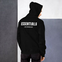 Fear Of God Essentials Los Angeles Hoodie 2020 Pullover Unisex Sweatshirts