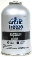 Arctic Freeze 12 Oz R 134a High Mileage 75000 Miles Stop Leak Auto A/C Recharge