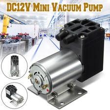 DC12V Mini Vacuum Pump Negative Pressure Air Suction Pump 5L/min 65-120kpa AU