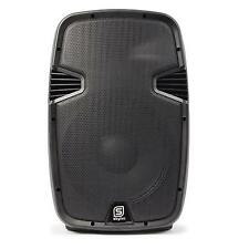 "DJ PA ENCEINTE AMPLIFIEE SONO DISCO HAUT PARLEUR MONITEUR 15"" USB SD BLUETOOTH"