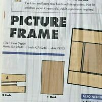Kids Workshop Wooden Picture Frame ages 5+ Free Shipping