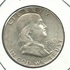 Franklin Half Dollars  1949