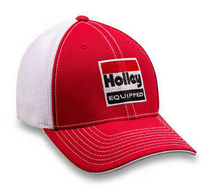 Holley 10161-LGHOL Holley Equipped Flex Mesh Hat