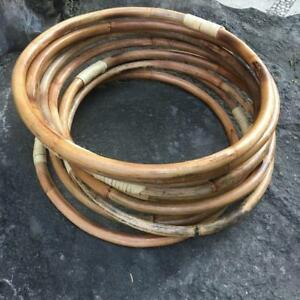 32cm RATTAN RING Weddings/Florist/Macrame/Hoop/DIY/Bamboo/Cane/Events