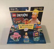 NEW Homer Simpsons Legos, Homer, Car, Unopened Box, TV Dimensions 71202