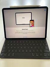 """Apple iPad Pro 11"""" Tablet 512GB Wi-Fi - Space Gray (MTXT2LL/A) Pencil & Keyboard"""
