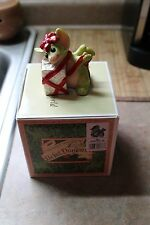 1999 The Whimsical World Of Pocket Dragons All Wrapped Up Christmas Figure