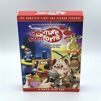 Creature Comforts - The Complete First & Second Seasons (3-Disc DVD Set, 2006)