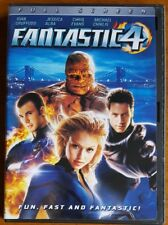 Fantastic Four - Ioan Gruffudd - Jessica Alba - Chris Evans - DVD