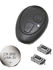 fits Rover 75 MG ZT ZTT 2 Button Remote key FOB Repair Refurbishment Kit