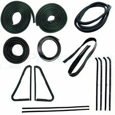 64-66 Chevy C10 Truck Complete Gasket Kit Door Glass Weatherstrip Vent Seals