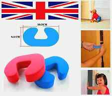 2PCS DOOR GUARD STOP STOPPER CHILD SAFETY FINGER PROTECTORS FOAM WEDGES