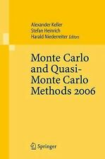 Monte Carlo and Quasi-Monte Carlo Methods 2006 (2007, Paperback)