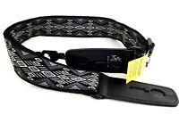 LOCK-IT Guitar Strap Retro Vintage Series Carbon Canyon Patented Strap Locking