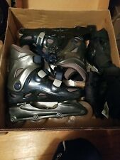 California Advanced Sports Womens Volt Xl Inline Roller Blades With Elbow And.