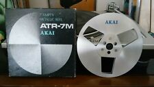 "AKAI 7"" ATR-7M METAL TAKE UP REEL IN EXCELLENT CONDITION IN ORIGINAL BOX"
