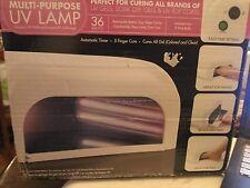 ASP UV Lamp Light Genuine Nail Dryer Tech 4 Gel Polish Gelish OPI CND Gelshine