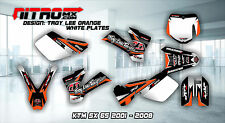 NitroMX Graphic Kit for KTM SX 65 SX65 2001 2002 2003 2004 2005 2006 2007 2008