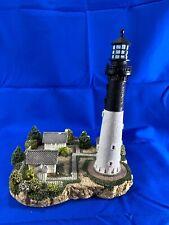 Signed Hunting Island, SC Lighthouse #211 1998 Harbour Lights Box/COA