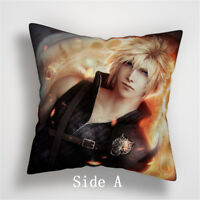 Final Fantasy VII Anime Manga two sides Pillow Cushion Case Cover 910