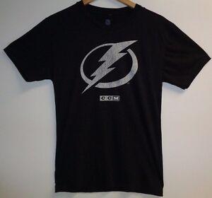 CCM NHL Size XL TAMPA BAY LIGHTNING STEVEN STAMKOS 91 #91 Gray New Mens Shirt