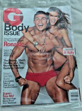 February 2016 GQ Magazine Ronaldo The Body Issue Factory Sealed in Plastic NEW