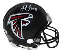 Julio Jones Autographed/Signed Atlanta Falcons Mini Helmet BAS 30019