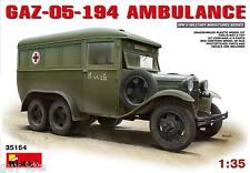 AMBULANCE SOVIETIQUE TYPE GAZ-05-194 - KIT MINIART 1/35 n° 35164