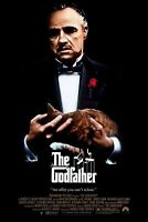 F-205 The Godfather Movie Hot Poster - 36 27x40in - Art Print
