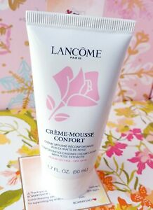 LANCOME CREME-MOUSSE CONFORT COMFORTING CLEANSING CREAMY-FOAM 1.7 oz NEW