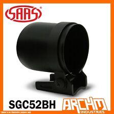 "SAAS Gauge Cup Holder Mount for 52mm 2"" Gauge Matt Black Universal Pod SGC52BH"