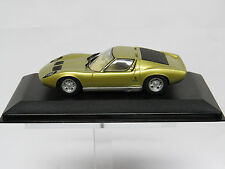 """Lamborghini Miura 1/43 """"Gold"""" Minichamps Nr. 430103001"""