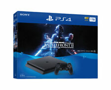 Sony PlayStation 4 Slim STAR WARS: Battlefront II Bundle, 1TB, Black Console