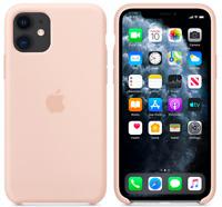 Sandrosa Apple Echt Original Silikon Schutz Hülle Case iPhone 11 6,1″